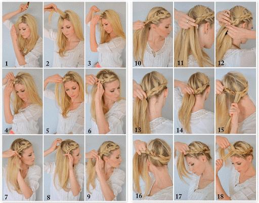 خطوة خطوة الشعر (أنثى) 3 تصوير الشاشة