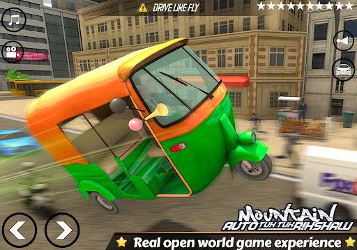 Mountain Auto Tuk Tuk Rickshaw Novos Jogos de 2020 screenshot 9