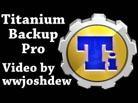 Titanium Backup ★ root needed screenshot 1