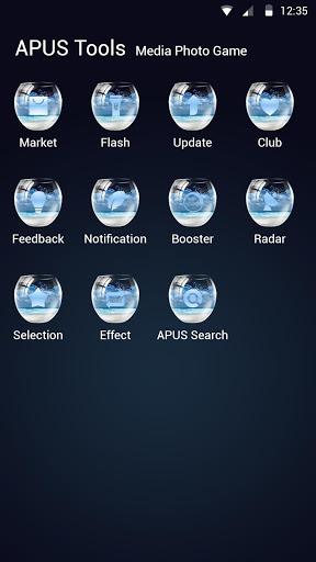 زجاجة APUS Launcher theme 3 تصوير الشاشة