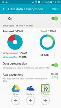 Ultra data saving - Opera Max screenshot 4