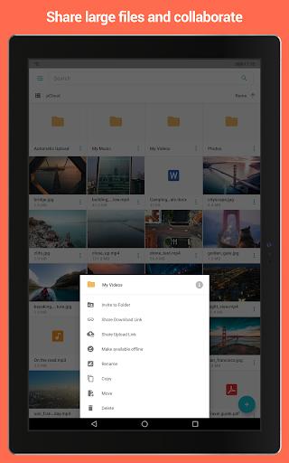 pCloud: Free Cloud Storage screenshot 8