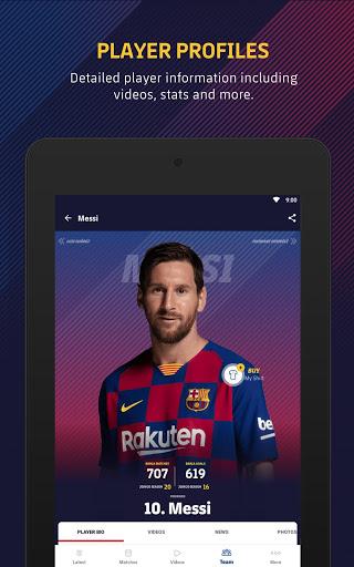 FC Barcelona Official App 11 تصوير الشاشة