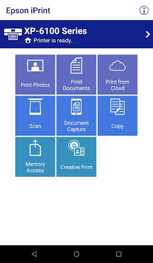 Epson iPrint screenshot 1
