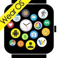 Bubble Cloud Tile Launcher Watch face (WearOS) on 9Apps