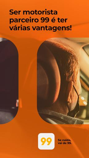 99 para Motoristas - Táxi e Motorista Particular 1 تصوير الشاشة