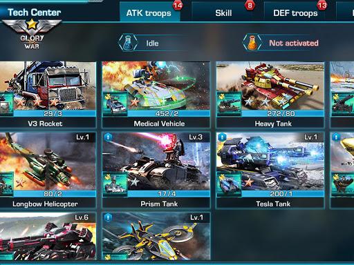 Glory of War - Mobile Rivals screenshot 16