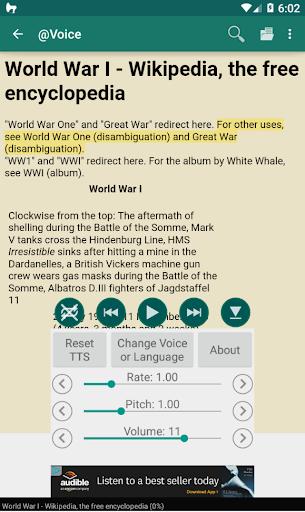 @Voice Aloud Reader (TTS Reader) screenshot 2