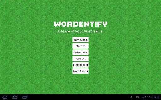 Wordentify - Free Word Jumble. screenshot 7