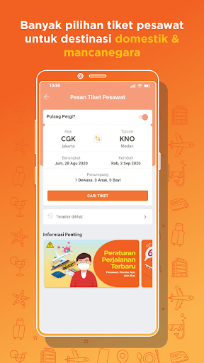 Pegipegi - Beli Tiket Pesawat, Hotel, Kereta & Bus screenshot 4