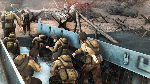 Call Of Courage : WW2 FPS Action Game screenshot 4