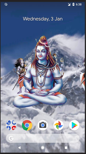 4D Shiva Live Wallpaper 10 تصوير الشاشة