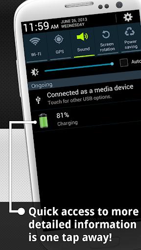 Show Battery Percentage 2 تصوير الشاشة