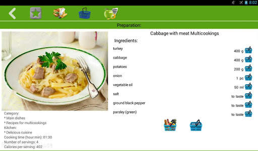 Multicooking recipes screenshot 6