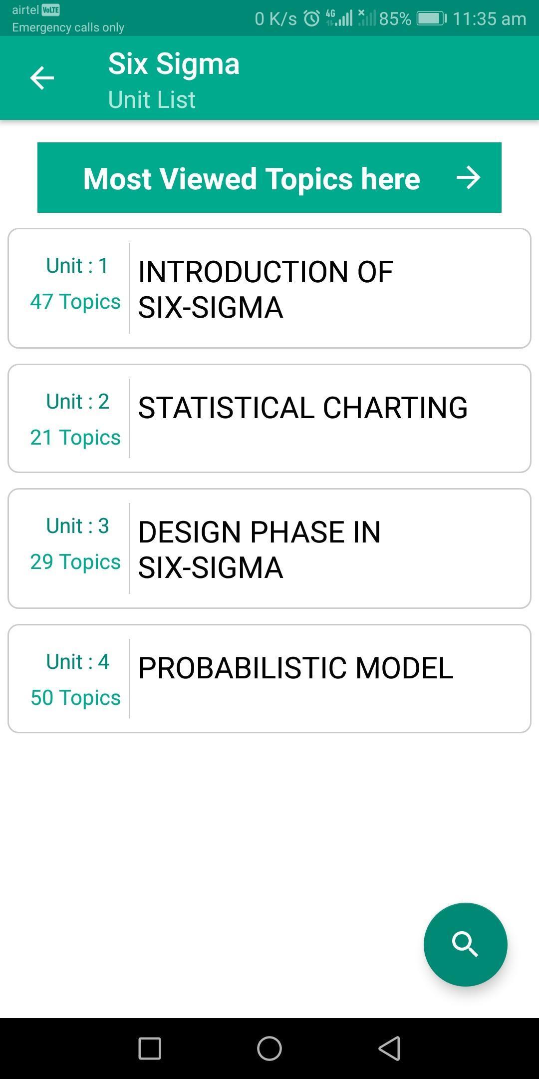 Learn Six Sigma: Engineering screenshot 2