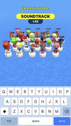 Type Sprint: Schnell schreiben. Renn-Spiele 3D screenshot 4