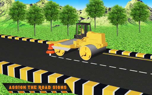 Highway Construction Road Builder 2020- Free Games screenshot 6