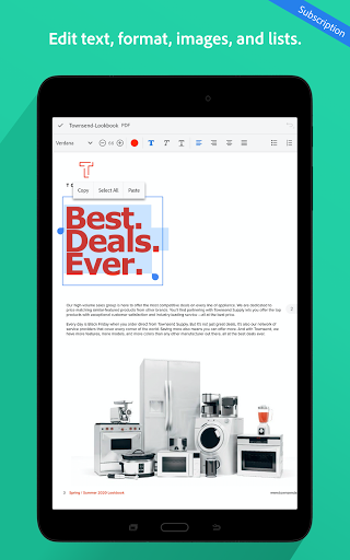 Adobe Acrobat Reader: PDF Viewer, Editor & Creator 14 تصوير الشاشة