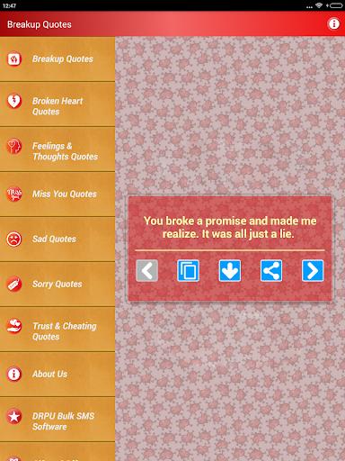 Sad & Broken Heart Pain Status screenshot 10