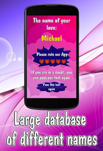 Test: Name of your Love 3 تصوير الشاشة
