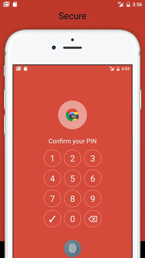 Fingerprint Pattern App Lock screenshot 9