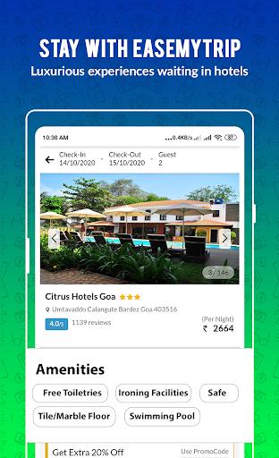 EaseMyTrip – Cheap Flights, Hotels, Bus & Holidays 6 تصوير الشاشة