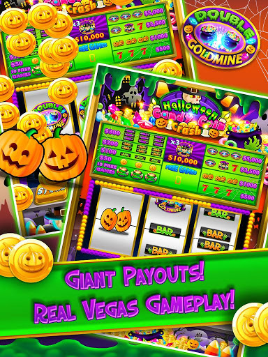 Halloween Candy Vegas Slots Mega Slot Machine FREE screenshot 3