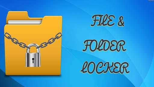 File & Folder Locker screenshot 1