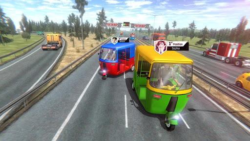 Modern Tuk Tuk Auto Rickshaw: Free Driving Games screenshot 2