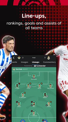 La Liga Official App - Live Soccer Scores & Stats स्क्रीनशॉट 6
