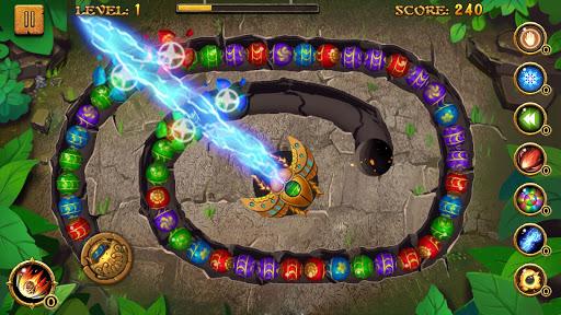 Jungle Marble Blast screenshot 1