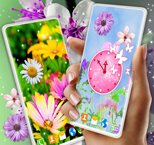 Spring Flowers Live Wallpaper 🌻 Summer Wallpapers скриншот 1