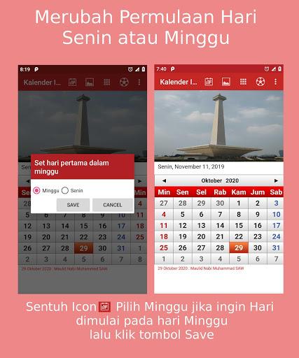 Kalender Indonesia screenshot 7
