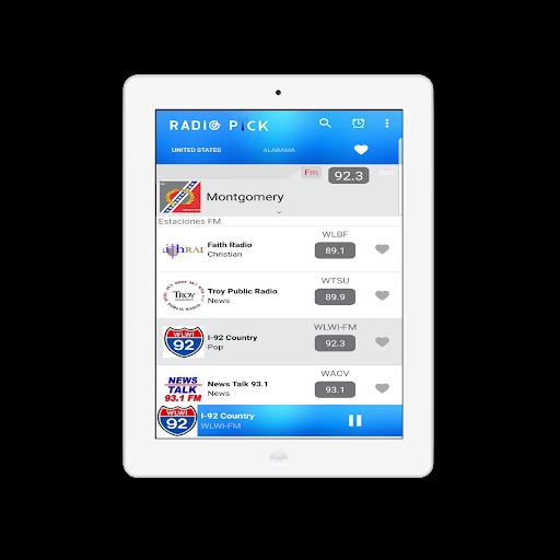 Radio Pick - AM FM Free screenshot 11