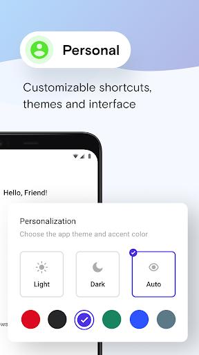 Opera Mini 베타 웹 브라우저 screenshot 3