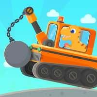 Dinosaurus Penggali 3 -  Game Truk untuk anak on 9Apps