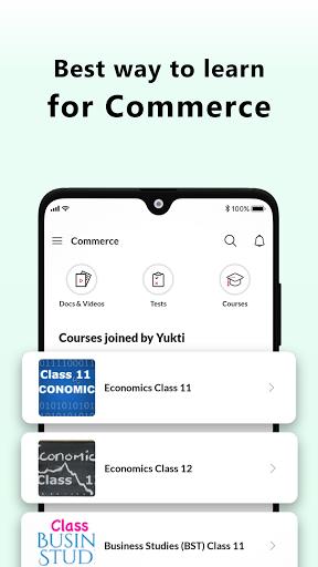 Commerce Class 11, Class 12 Accounts BST Economics 1 تصوير الشاشة