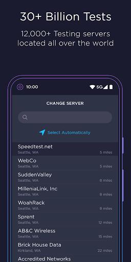Speedtest by Ookla screenshot 5