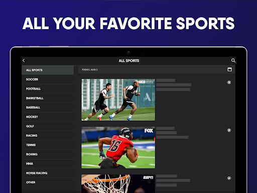 fuboTV: Watch Live Sports, TV Shows, Movies & News screenshot 13