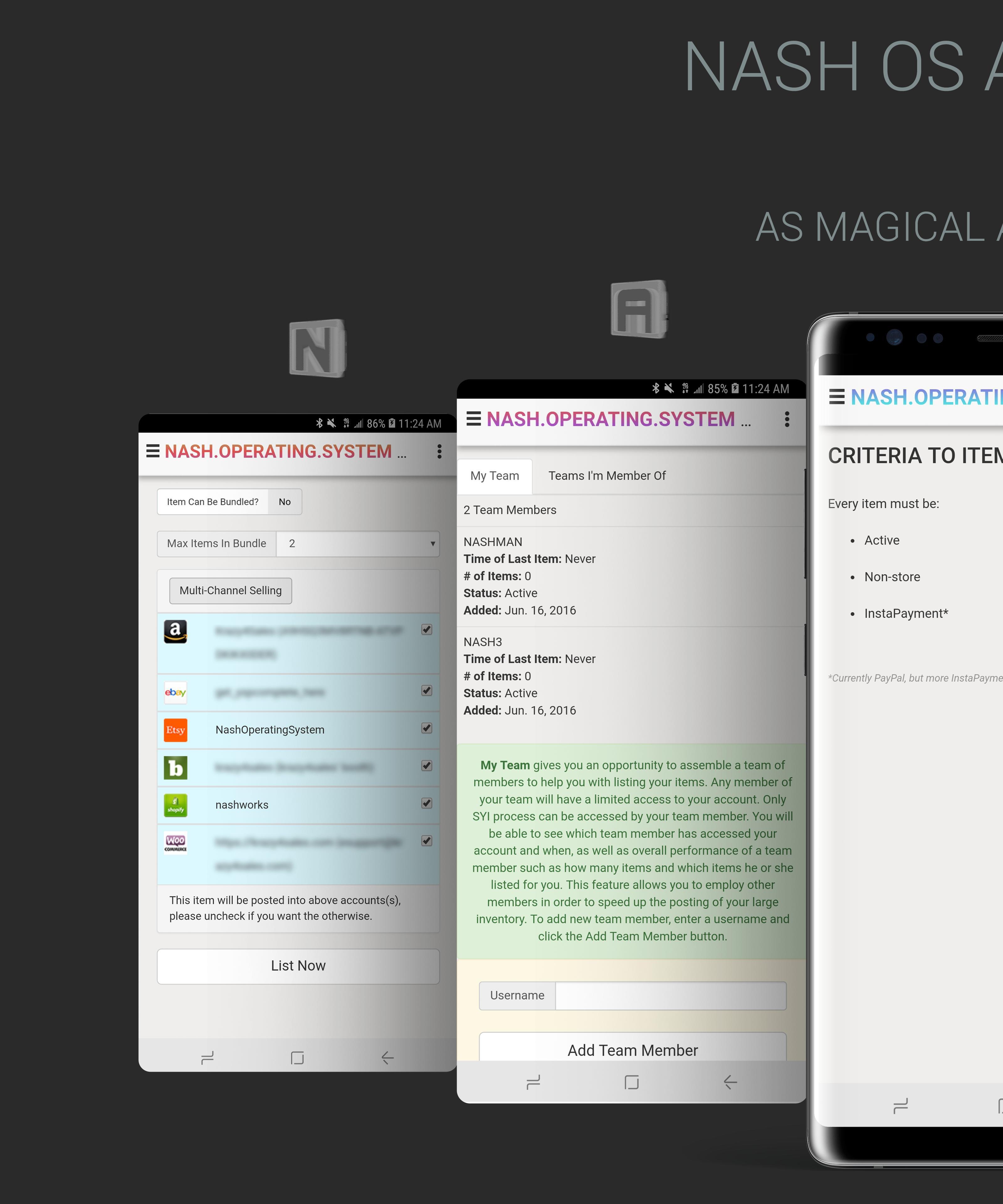 NASH OS APP (MOBILE DEMO) screenshot 7
