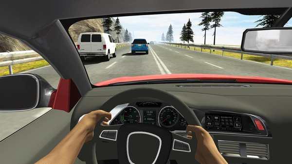 Racing in Car 2 3 تصوير الشاشة