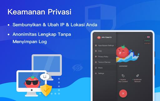 VPN Tomato Gratis | Proxy VPN Hotspot Tercepat screenshot 10