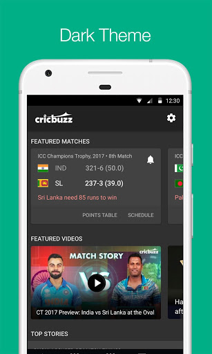 Cricbuzz - Live Cricket Scores & News स्क्रीनशॉट 2