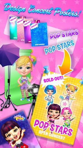 Sweet Baby Girl Pop Stars - Superstar Salon & Show 6 تصوير الشاشة