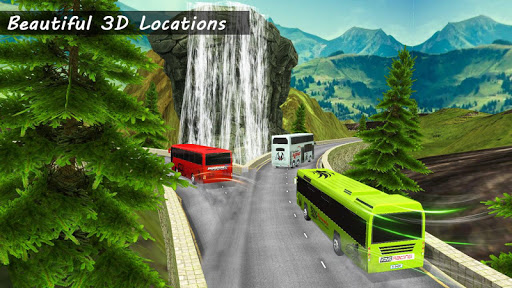 Bus Racing : Coach Bus Simulator 2021 स्क्रीनशॉट 6