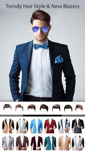 Man Photo Editor : Man Hair style ,mustache ,suit screenshot 7