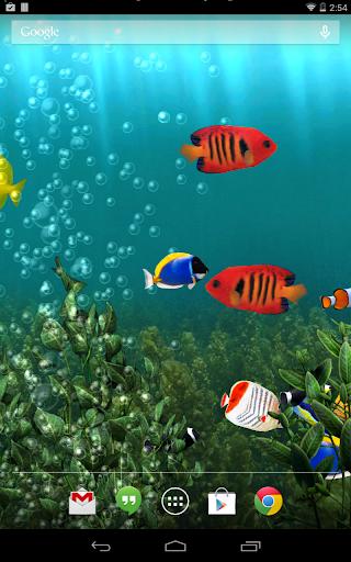 Aquarium Free Live Wallpaper screenshot 7