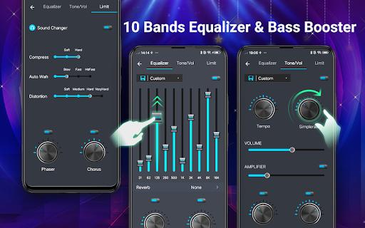 Pemutar musik - MP3 Pemain & 10 Band Equalizer screenshot 2