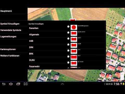Mobile-Lagekarte screenshot 1