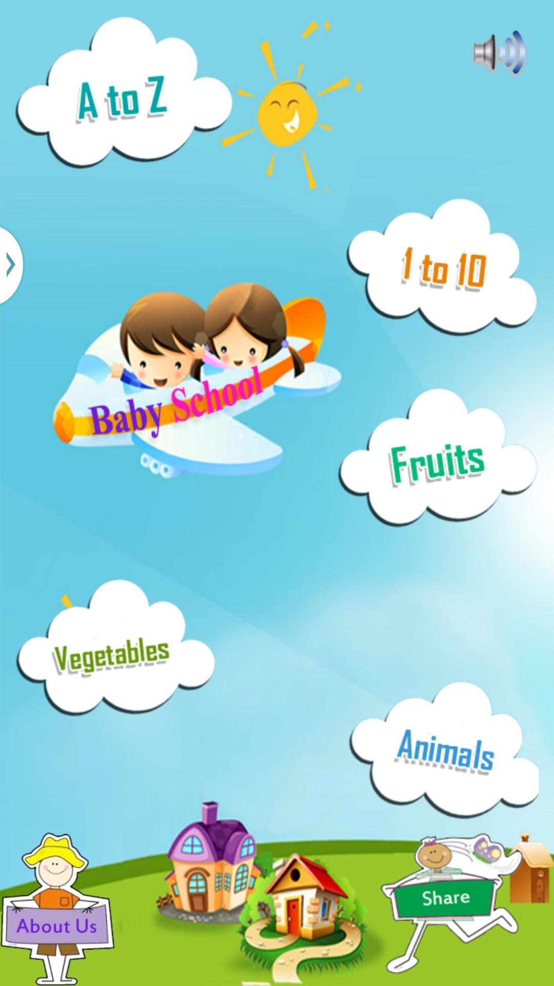 Baby School - Educational app screenshot 2